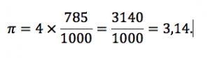 pi greco formula